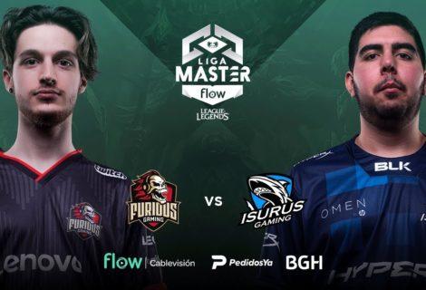 Liga Máster Flow de League of Legends, jornada 12: Isurus Gaming se queda con el clásico ante Furius