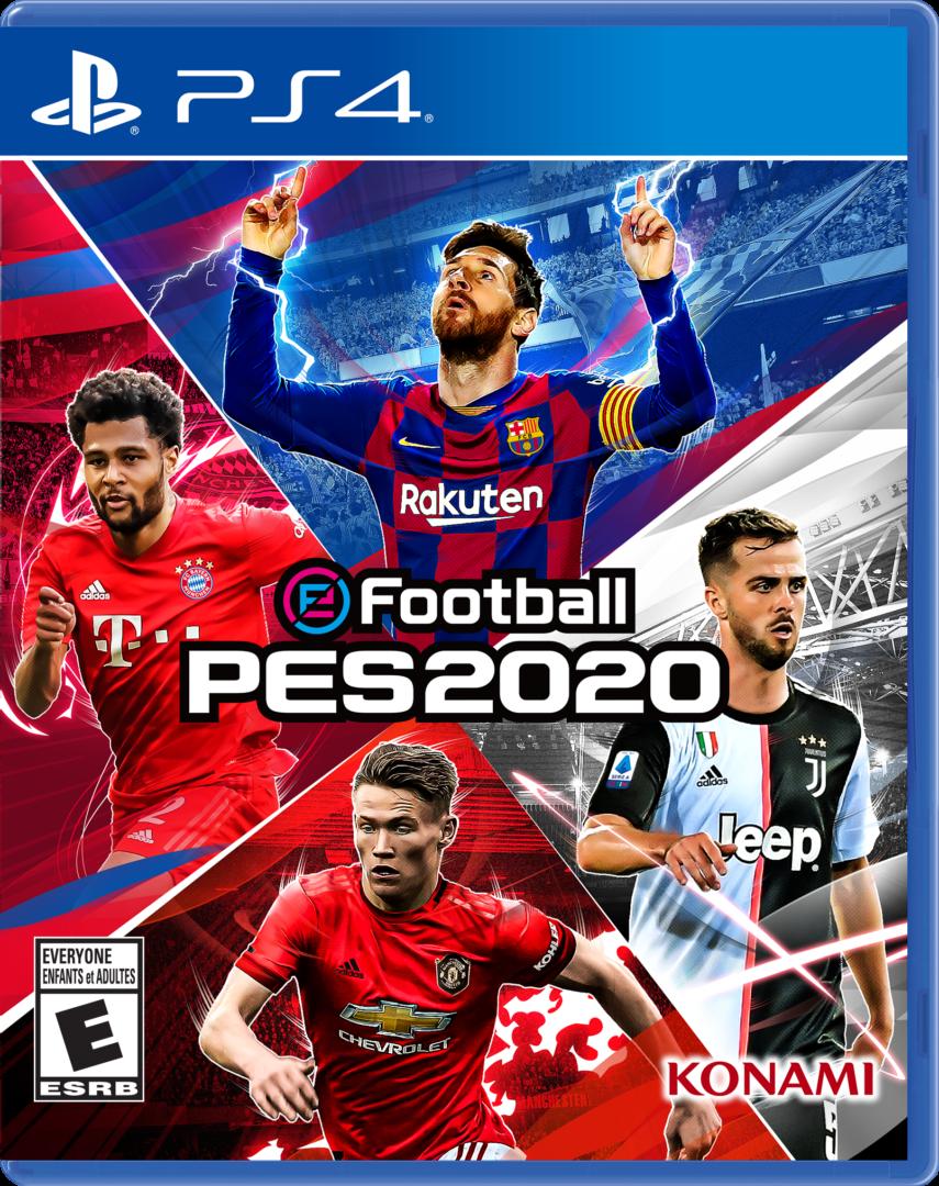 PES 2020 revela su portada definitiva y el contenido de la demo