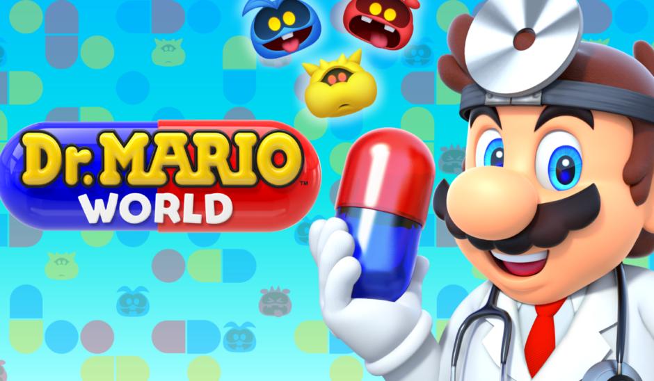 Novedades de la semana: Mario se vuelve a poner el ambo de médico en Dr. Mario y ahora atiende a todo el mundo