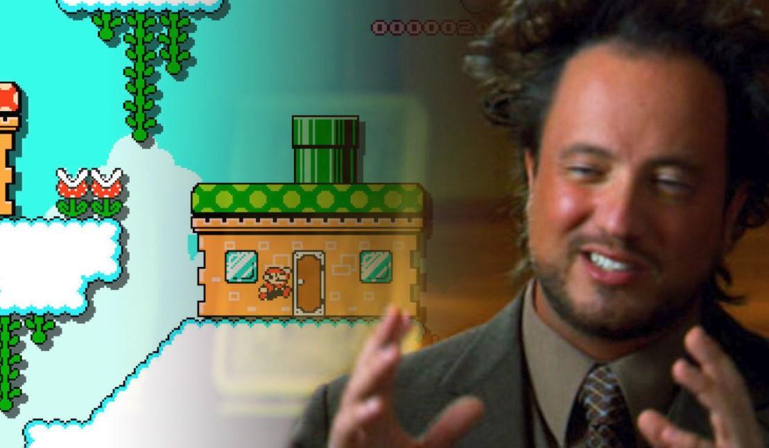 Nintendo sacó de circulación un nivel de Super Mario Maker 2 sobre el Área 51