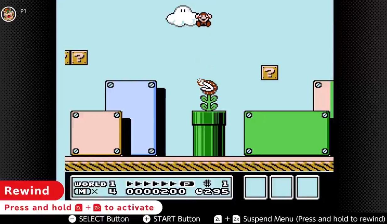 Nintendo Switch Online: dos nuevos títulos y una polémica función, la de rebobinar