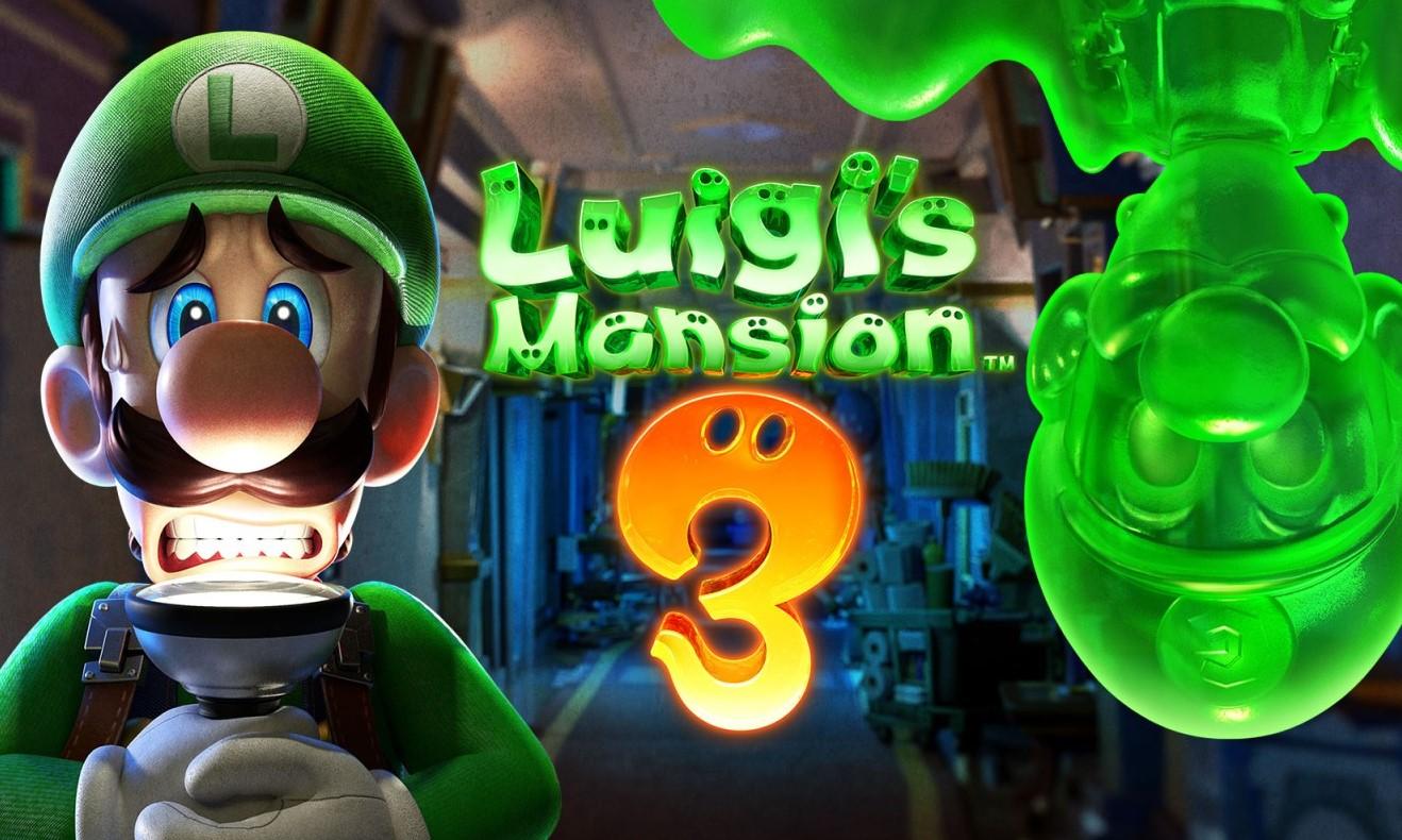 Luigi's Mansion 3 llegará a Nintendo Switch para Halloween