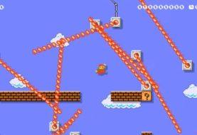 ¿Te parece demasiado fácil el 1-1 de Super Mario Bros.? Esta versión de Super Mario Maker 2 te estresa de sólo verla