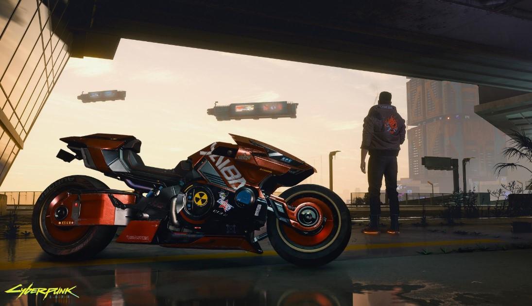 Cyberpunk 2077: Night City también se podrá recorrer en moto y otras novedades
