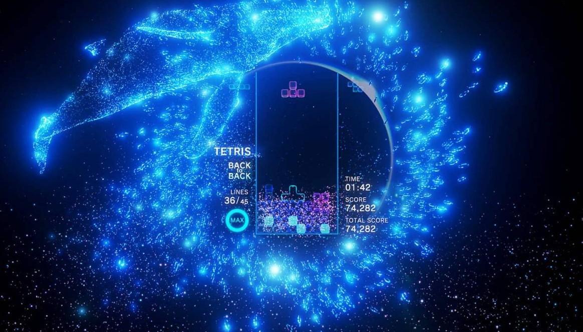 Tetris Effect es exclusivo de Epic Games Store, pero igual necesita de SteamVR