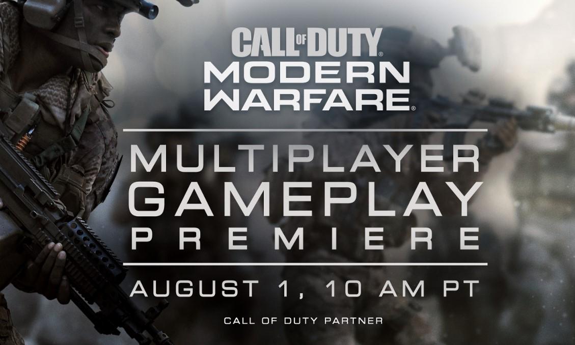 Call of Duty: Modern Warfare presentó un nuevo gameplay y algunas otras sorpresas