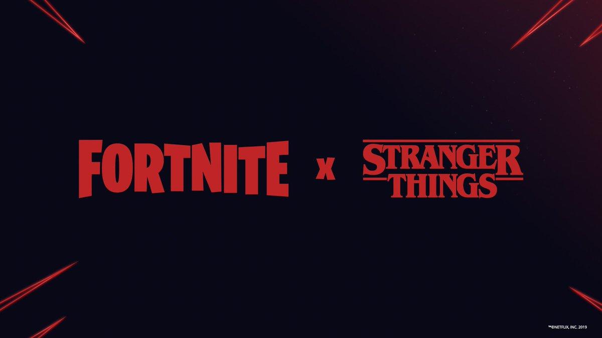 Los guiños de Fortnite para promocionar la tercera temporada de Stranger Things