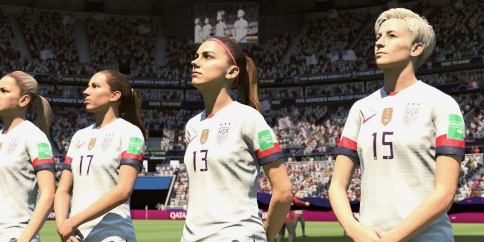 Piden a Megan Rapinoe en la portada de FIFA 20