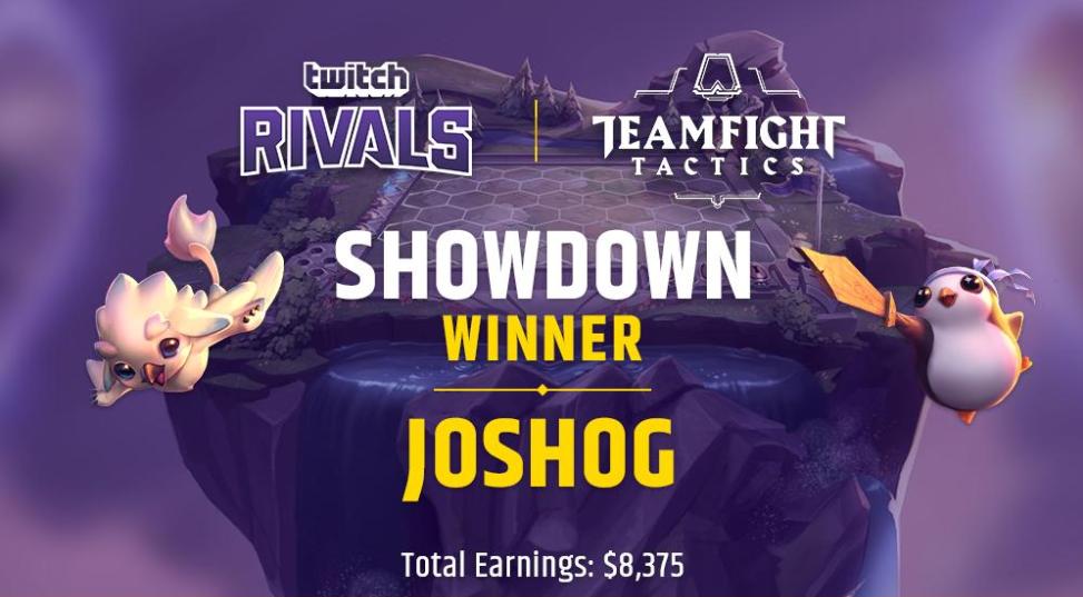 [FINALIZADO] JoshOG se consagró en el primer torneo de TeamFight Tactics que consiguió audiencias récord