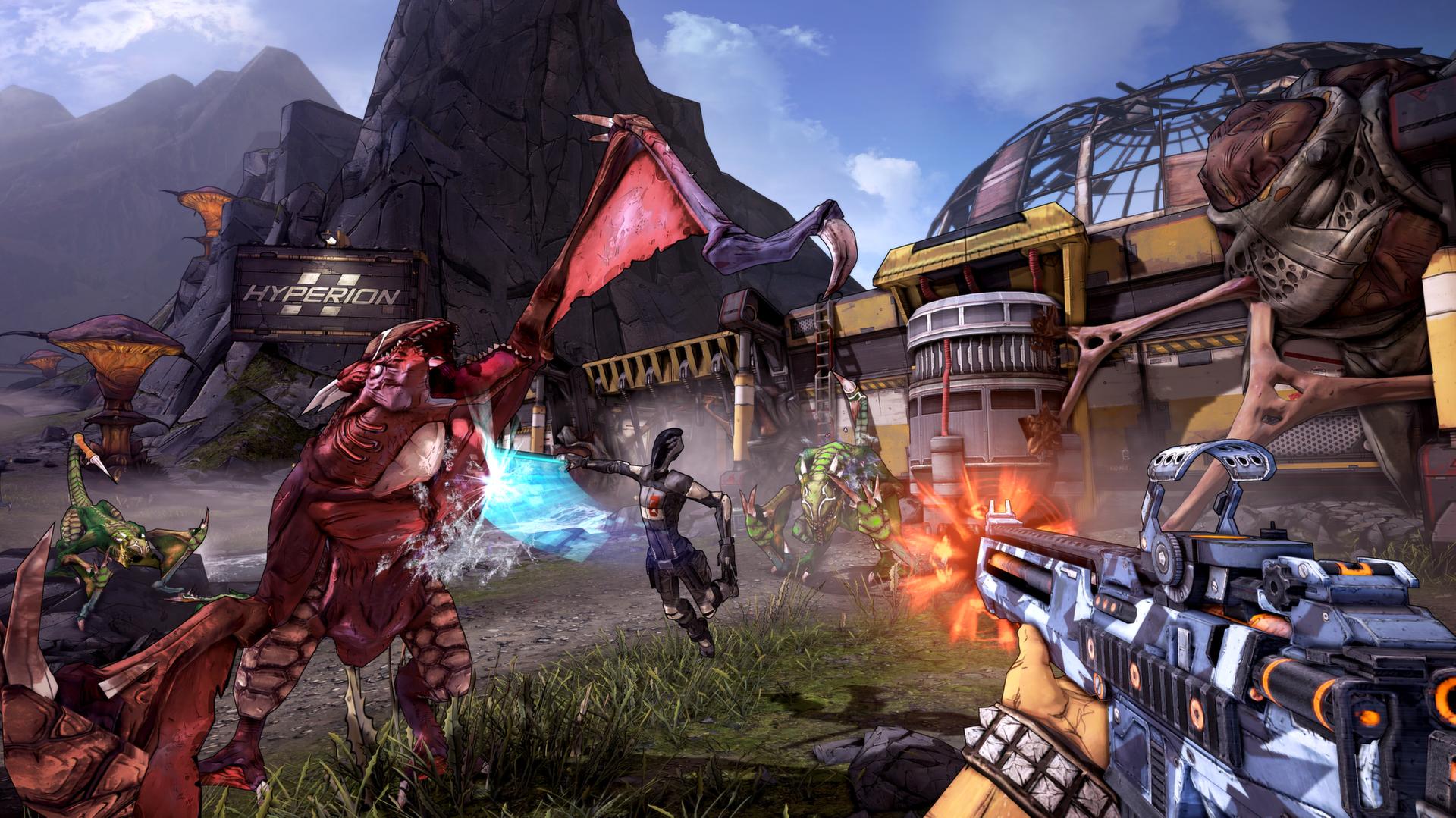 Borderlands 2 dice presente en PC y llega con todos los DLC incluidos