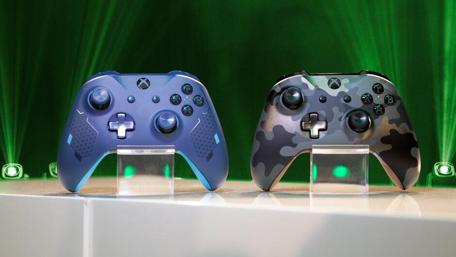 Xbox presentó dos nuevos joysticks en la previa de Gamescom 2019
