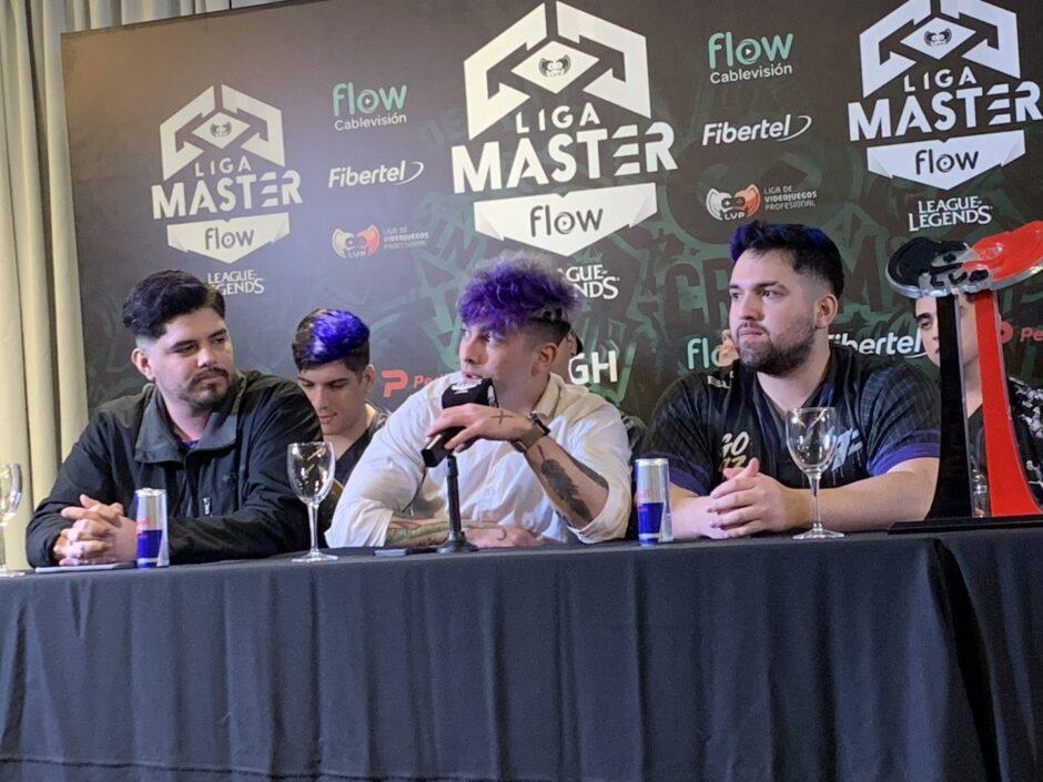 """Frankkaster confiado para la final de la Liga Master Flow League of Legends: """"El sábado comemos sushi"""""""