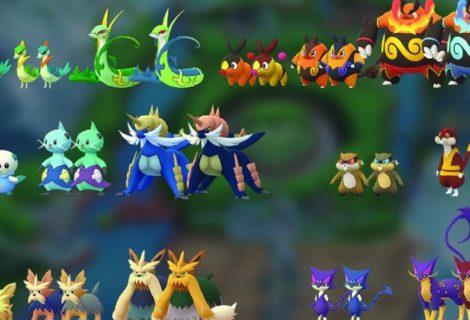 Se filtró una lista con los Pokémon de Teselia que serán incluidos en Pokémon GO