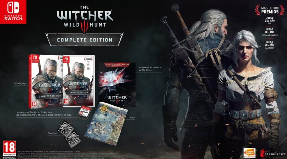 The Witcher 3: la semana se llenó de videos del gameplay en Switch y todos coinciden en que se ve espectacular