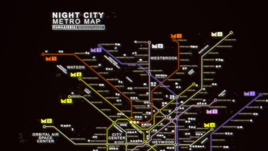 Cyberpunk 2077: el mapa será más chico que el de The Witcher 3 pero más denso