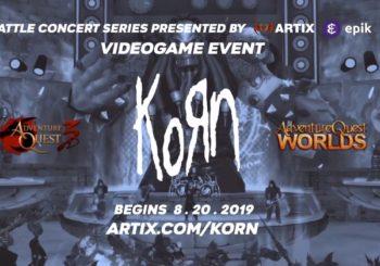 Korn hará un concierto en un MMORPG: los fans de PC y móviles podrán rockear mientras juegan