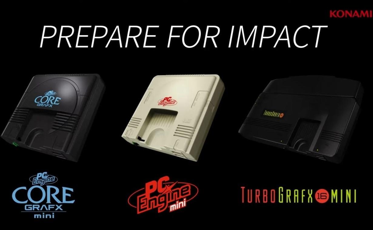 Konami anunció los juegos que traerá TurboGrafx-16 mini