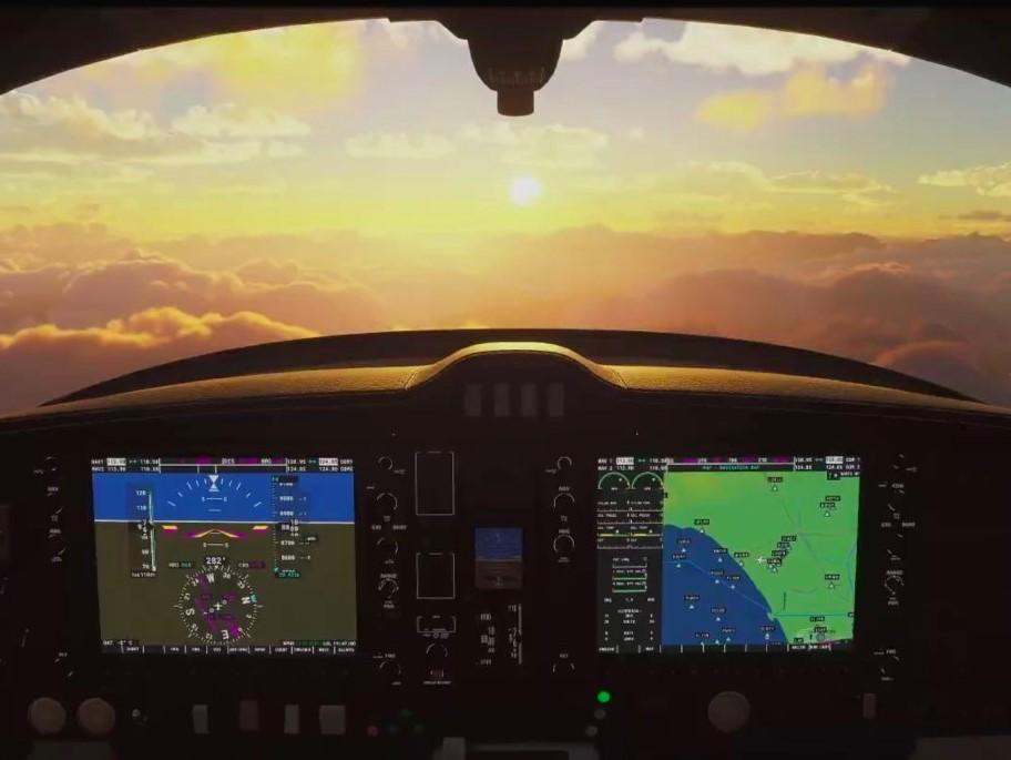 Microsoft Flight Simulator abrió el registro de la fase de pruebas y se ve demenecial
