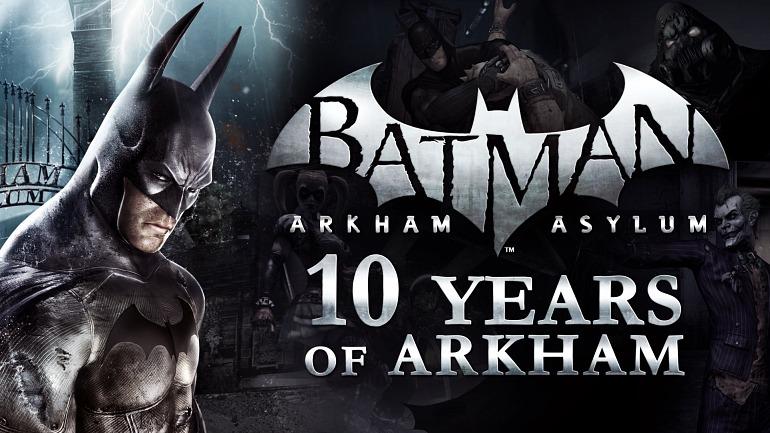 A 10 años del lanzamiento del Batman Arkham Asylum, ¿llega para Nintendo Switch?
