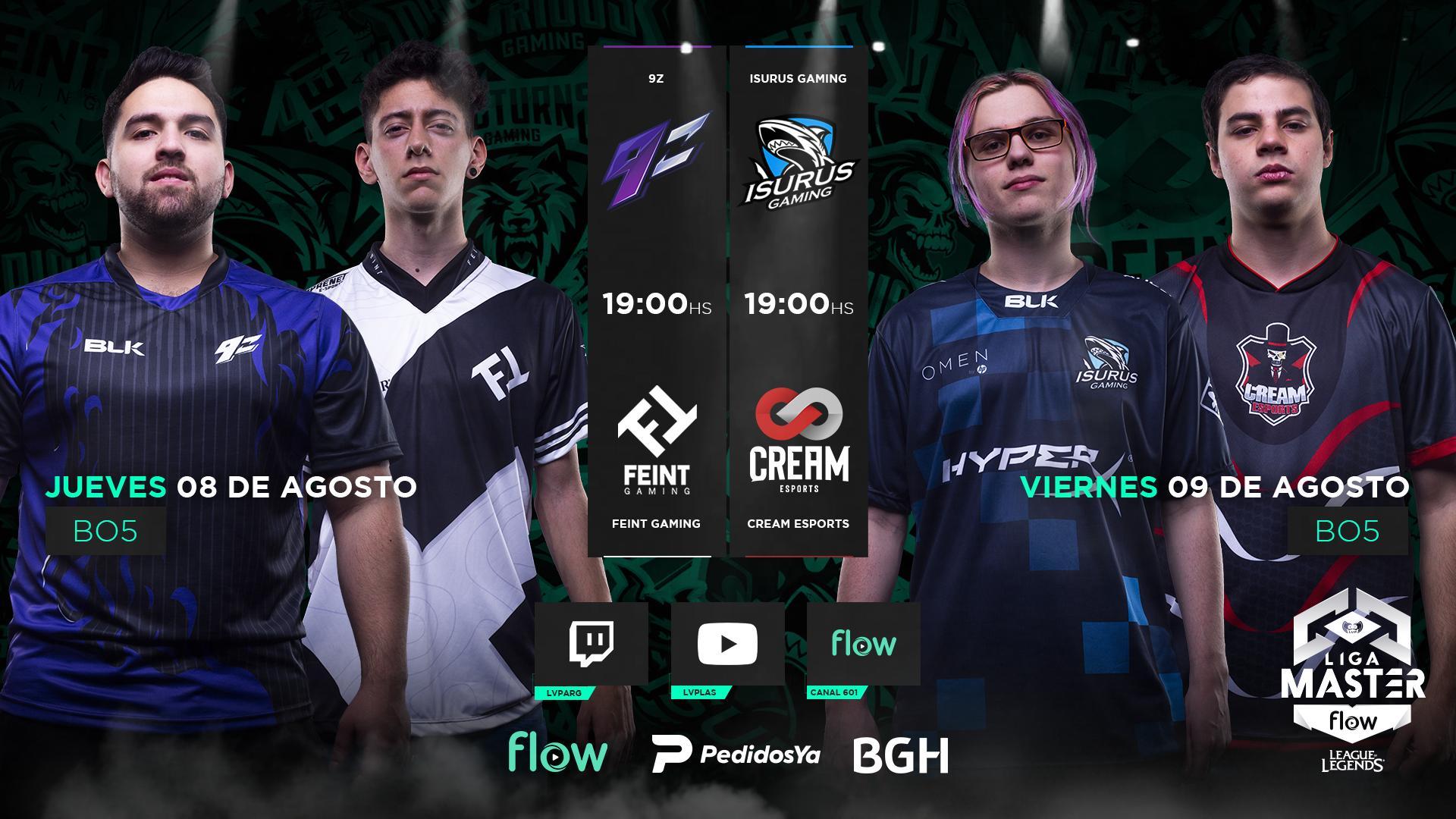 Liga Máster Flow: el gran torneo argentino de League of Legends entró en su etapa definitoria