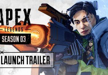 La Temporada 3 de Apex Legends llega con un nuevo personaje y un nuevo mapa!