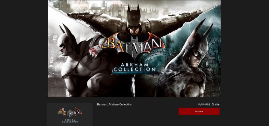 Siguen los festejos para los fans de Batman: Epic Store regala las trilogías Arkham y Lego