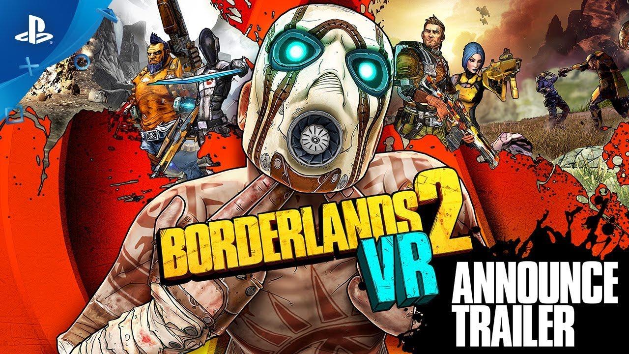 Se conoció la fecha de lanzamiento para PC de Borderlands 2 VR y sus DLC