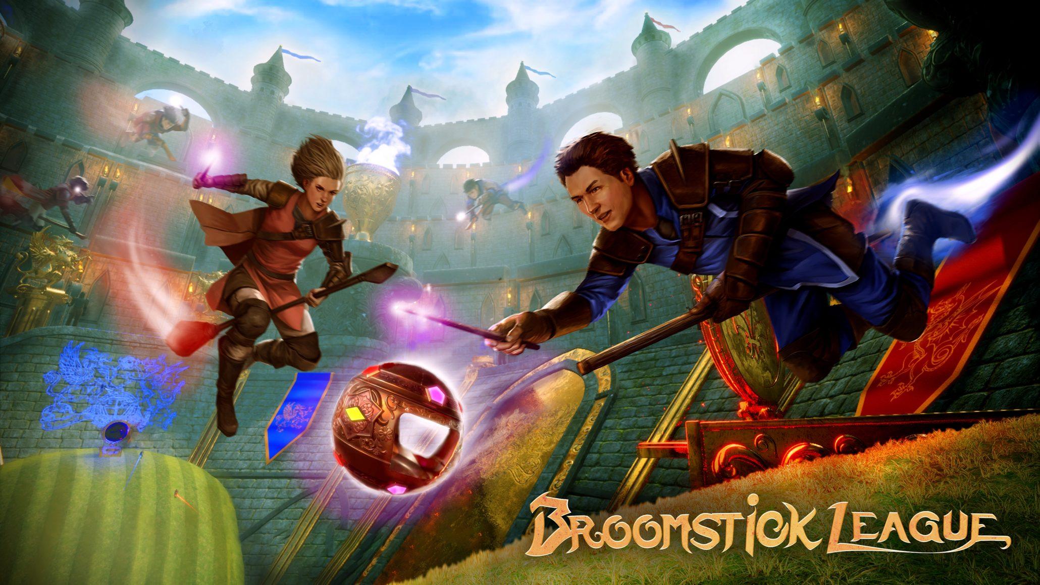 Virtual Basement se inspiró en Quidditch para realizar el Broomstick League