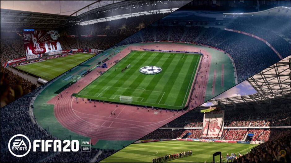 Electronic Arts confirmó todos los estadios para el FIFA 20