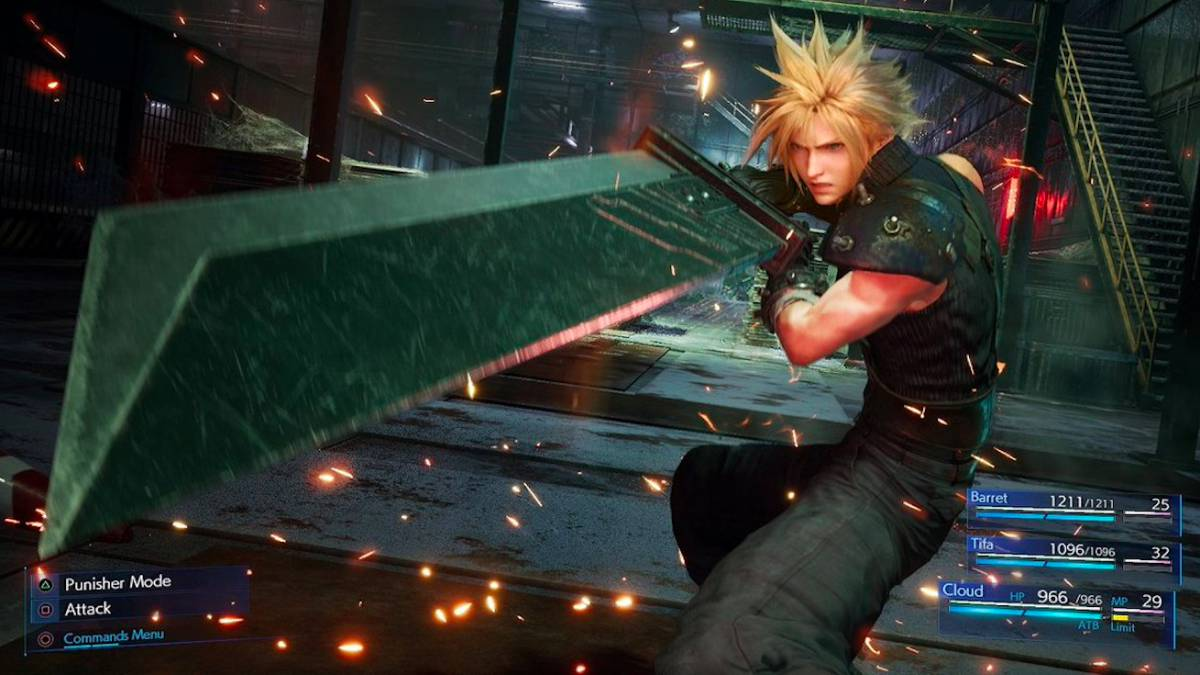 Se presentó un nuevo trailer de Final Fantasy VII Remake con Cloud, Tifa y Aeris