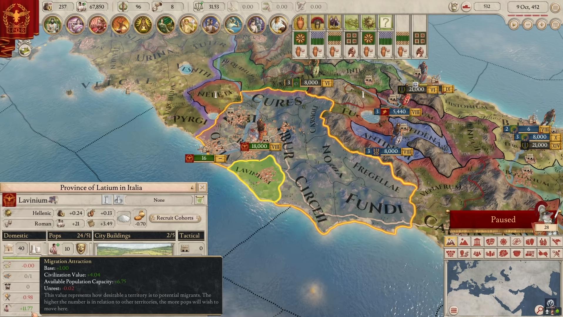 Cicerón, la actualización de Imperator Rome que trae los cambios más esperados por los fanáticos