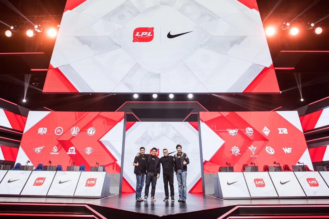 Nike presentó las camisetas de LPL para Worlds 2019
