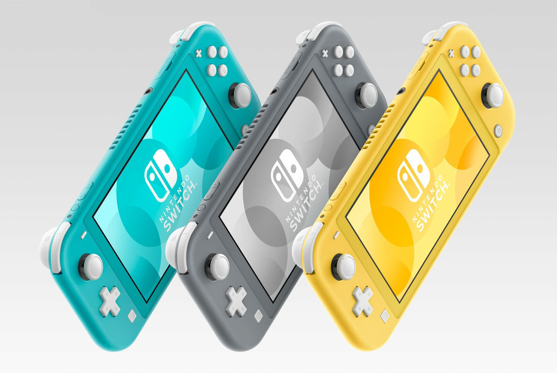 Nintendo Switch Lite arrasa con las ventas en Japón