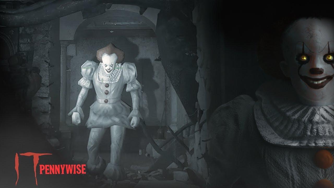 Pennywise aterroriza a los jugadores de Resident Evil 2
