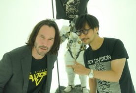 Keanu Reeves visitó a los autores de Death Stranding en Kojima Productions