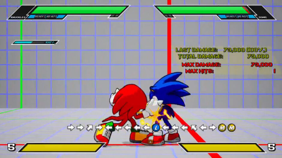 Sonic Smackdown: Insipirado en Marvel vs Capcom 3