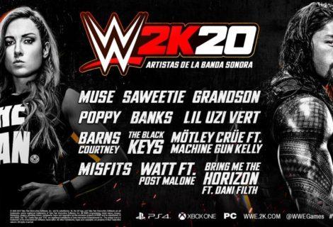 WWE 2K20 presentó las bandas sonoras del juego
