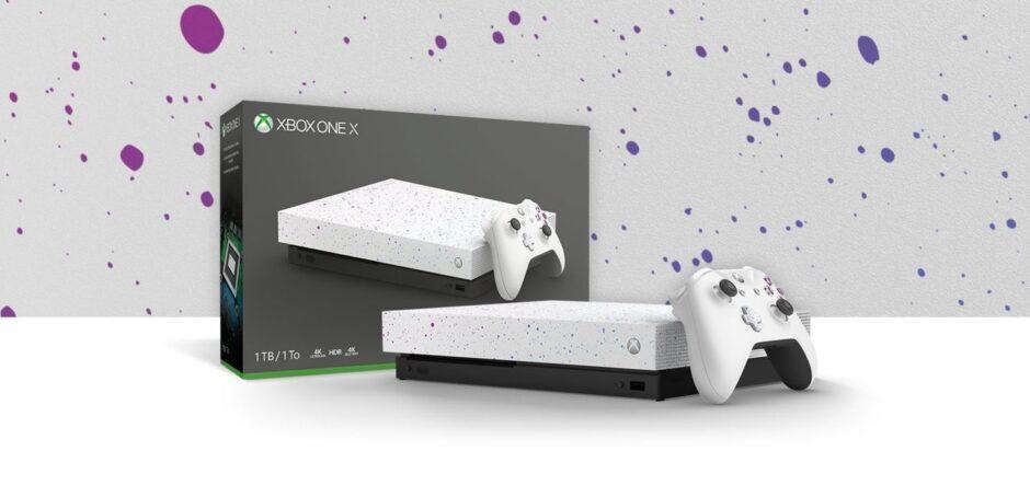 Ya se puede comprar la Xbox One X Hyperspace Special Edition