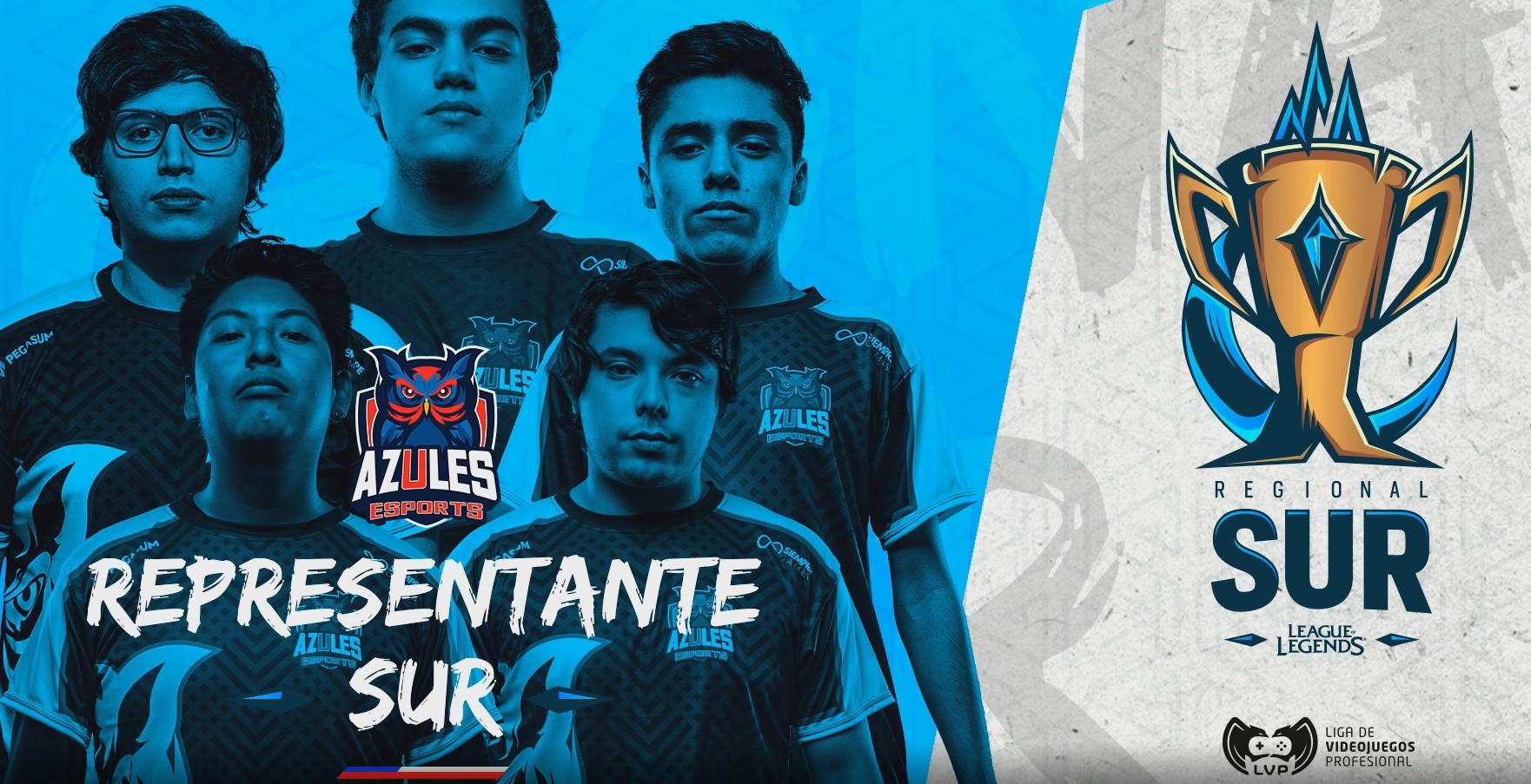 [FINAL] Se terminó el sueño de 9z Team: Azules Esports se quedó con el Regional Sur