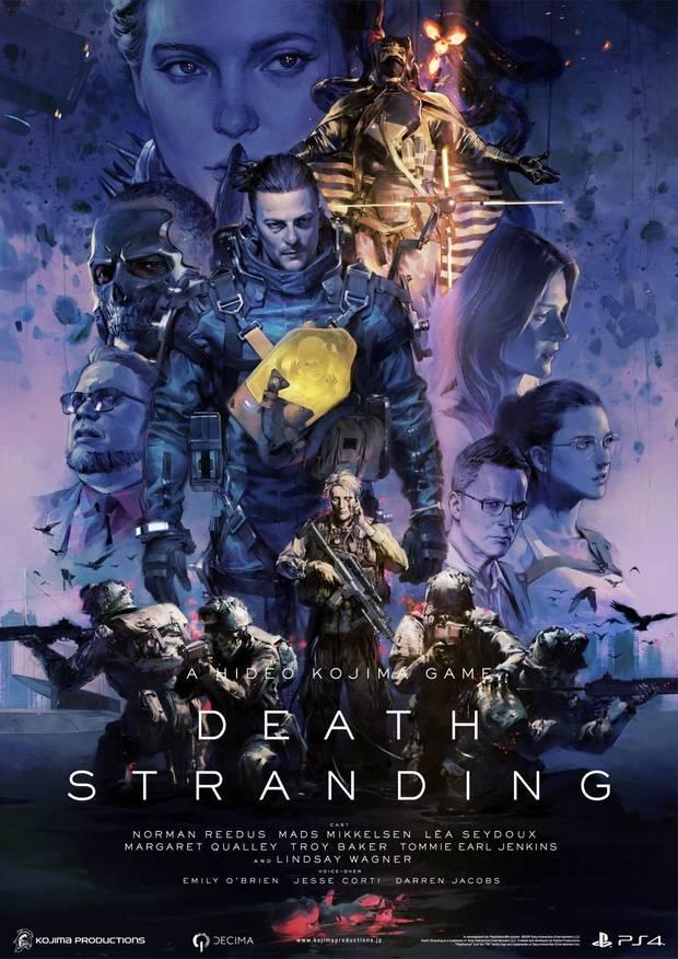 Death Stranding póster