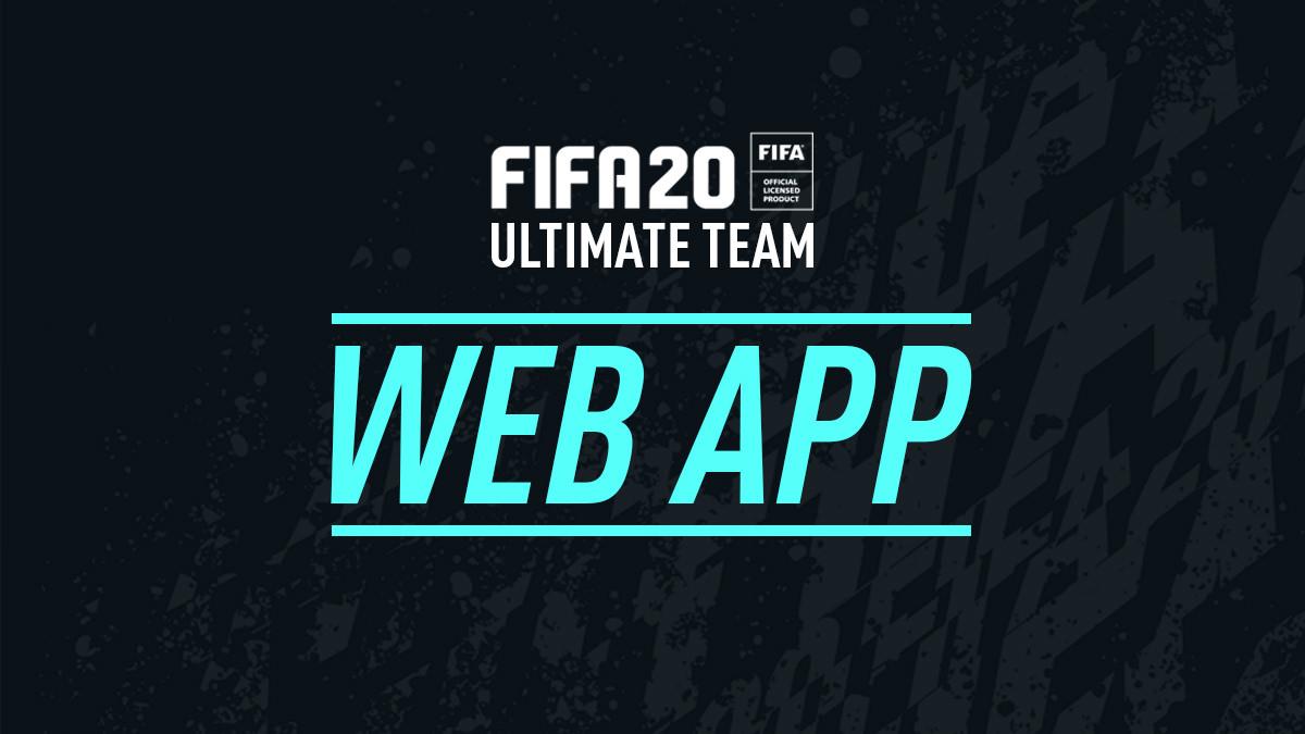 FIFA 20: Guía para usar la renovada FUT Web App ¿Cómo funciona y qué se puede hacer con ella?