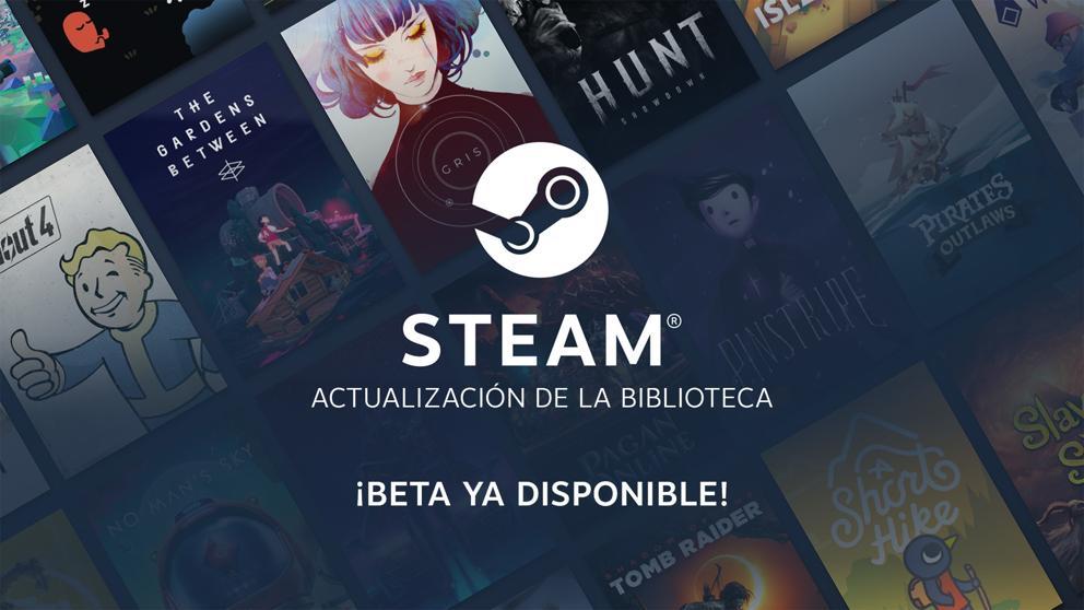 Steam se renueva: así luce el rediseño de la biblioteca