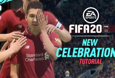 Así se festejan los goles en FIFA 20