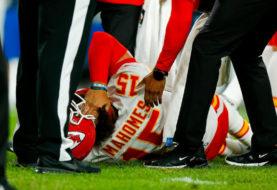"""La """"Maldición Madden"""" no falla: Patrick Mahomes sufrió una horrible lesión de rodilla y se sumó al listado que aterroriza a los jugadores de la NFL"""