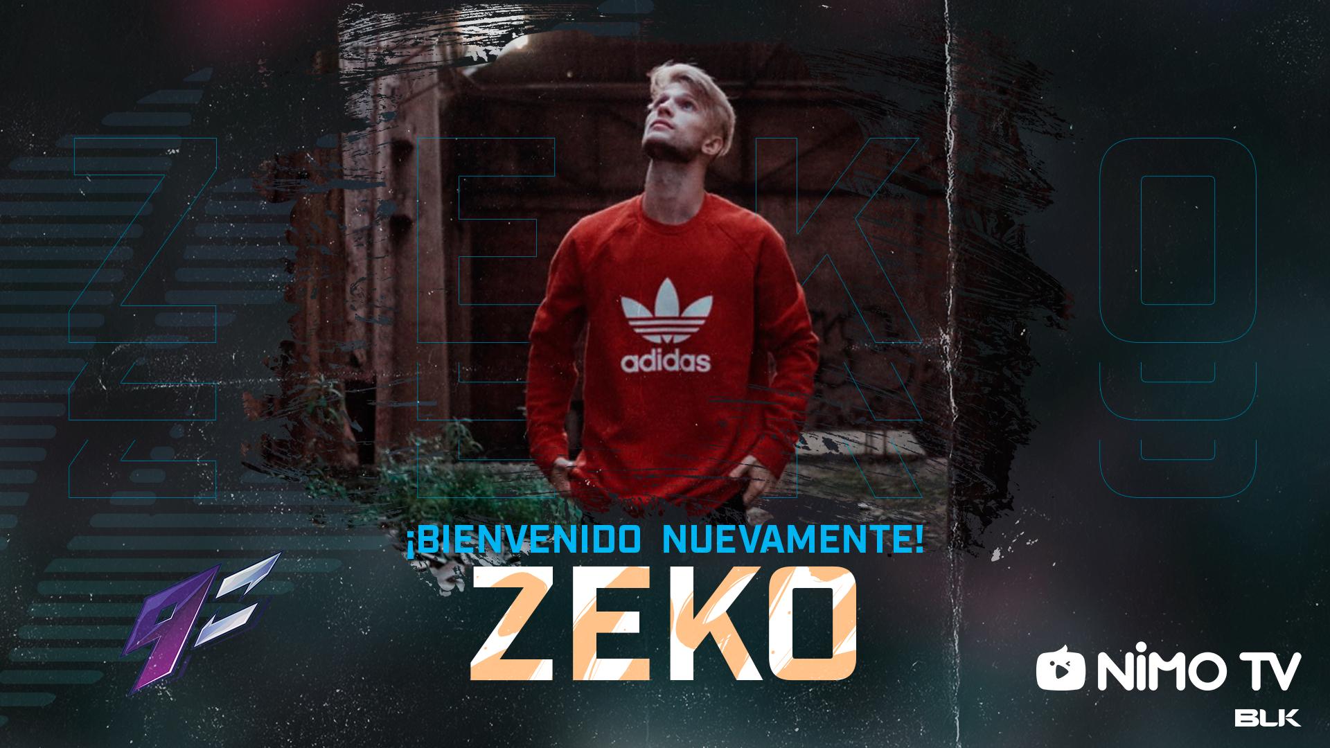 K1ng tiene compañero de equipo: 9z Team anunció a Zeko y un acuerdo con Nimo TV