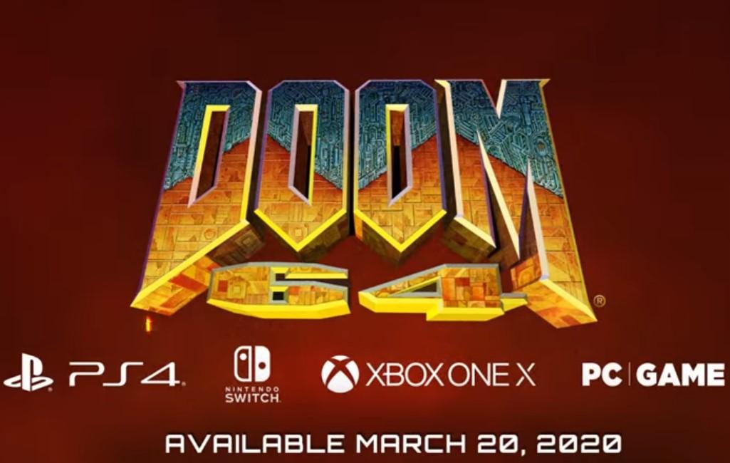 """Doom 64 tiene """"nuevo"""" tráiler, 22 años después de su lanzamiento"""