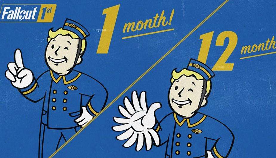 Bethesda anuncia Fallout 1st, una (carísima) suscripción que costará 12.99 dólares por mes o 100 al año