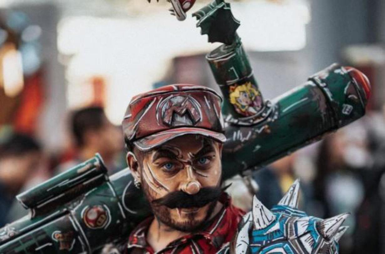 Super Mario y Borderlands se unieron y crearon este cosplay estupendo
