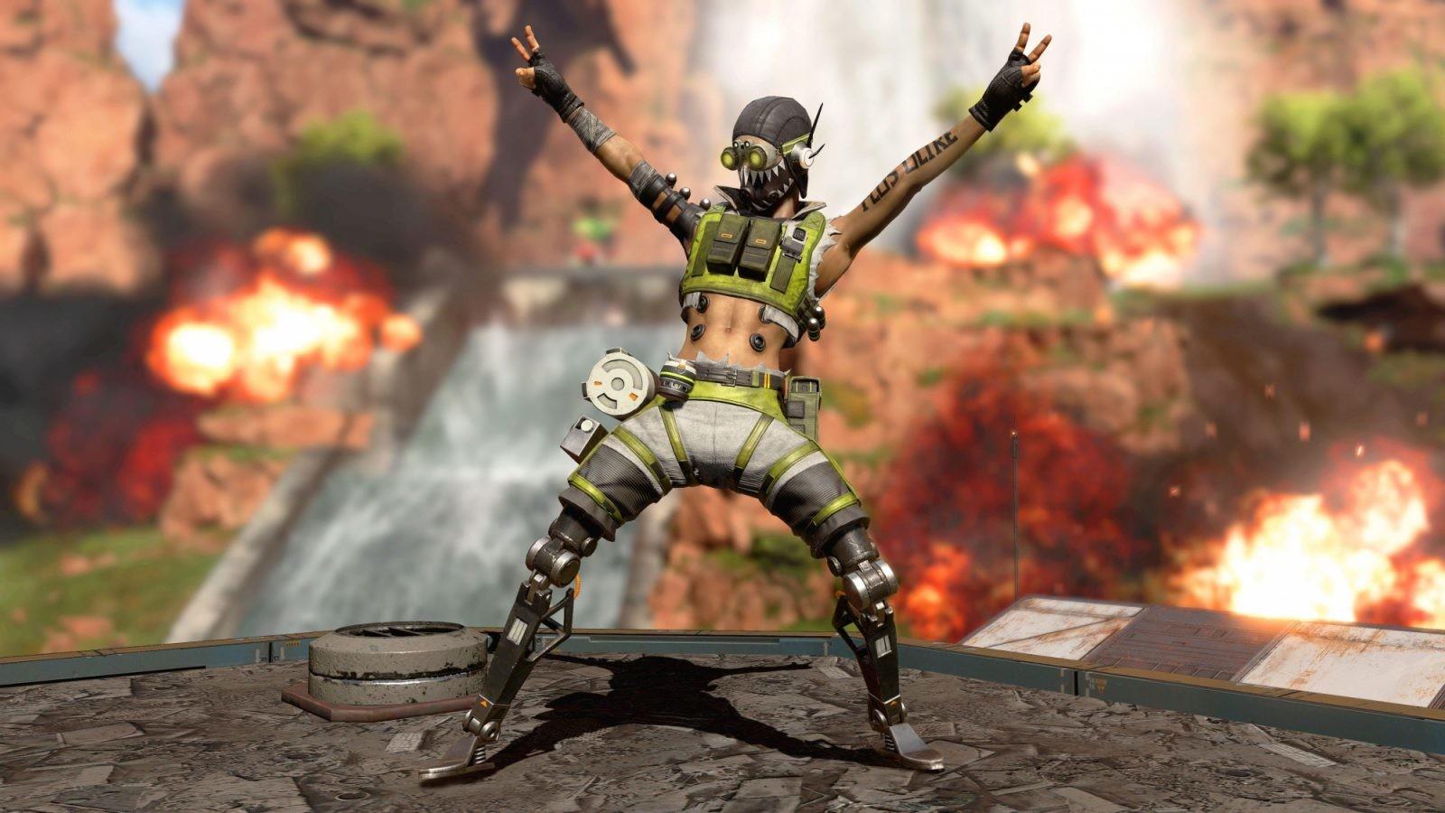 En el nuevo parche para Apex Legends se incluye campo de tiro