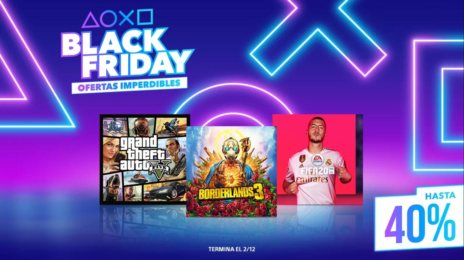 Comienzan las ofertas de Black Friday en PS Store con descuentos de hasta 70%